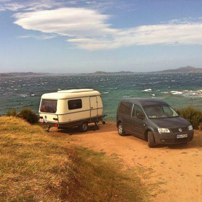 Campingplatz in der Nähe von Capo d'Orso