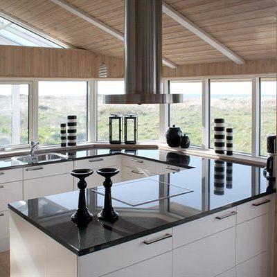 Küche mit Fernblick