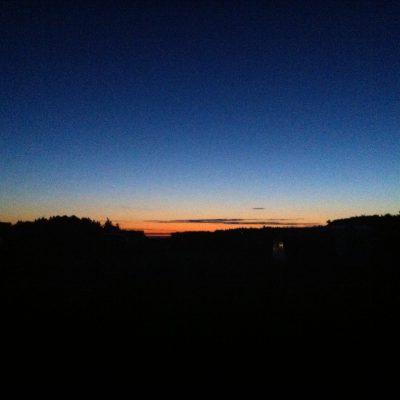 nachts um 0:45 Uhr