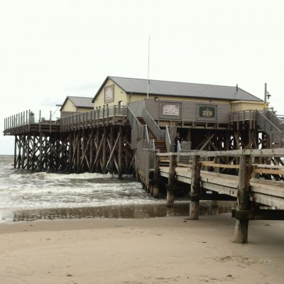 Stelzenhaus am Strand