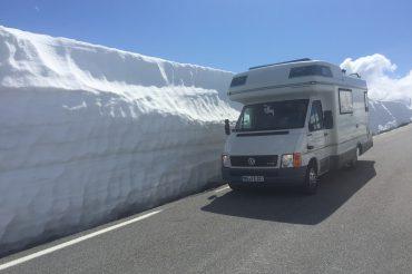 Tag 20 (10.06.2016) – die Snow Road nach Lærdal