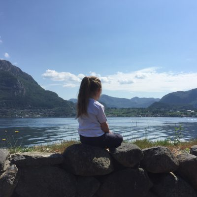 Die Aussicht auf den Lysefjord genießen
