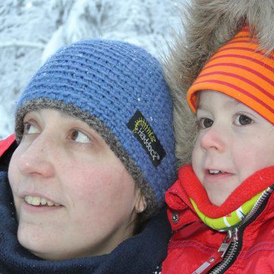 Annika und ihre Haddock Mütze