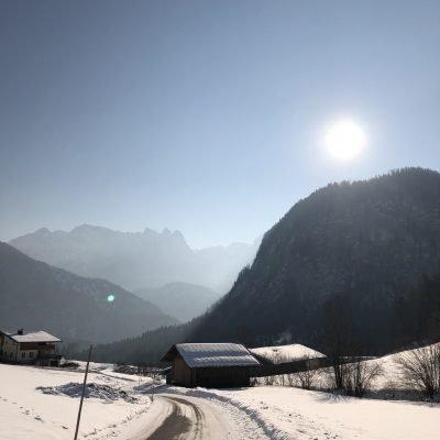 Auf dem Weg ins Tal