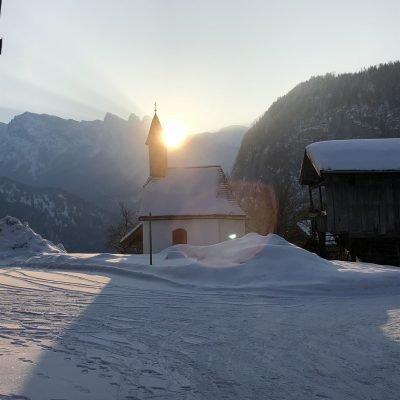 Sonnenaufgang auf dem Soderhof