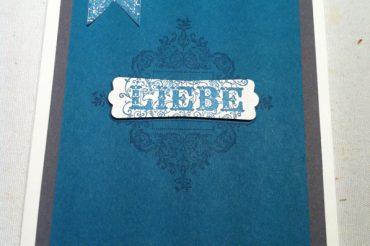 Liebe – Hochzeitseinladung
