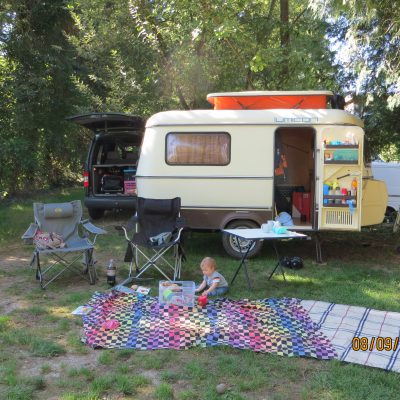 Erstes Campen am Bodensee