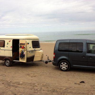 In Dänemark am Strand