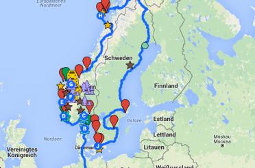 Nordlandtrip 2016 – Vorbereitungen