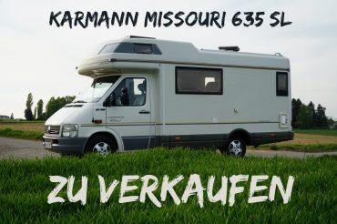 VERKAUFT: Wohnmobil Oscar I (Karmann Missouri 635 SL)