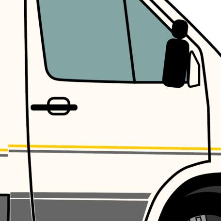 Folien Beifahrerseite vorne